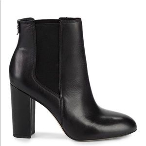 Black Leather Booties (8.5) Sam Edelman